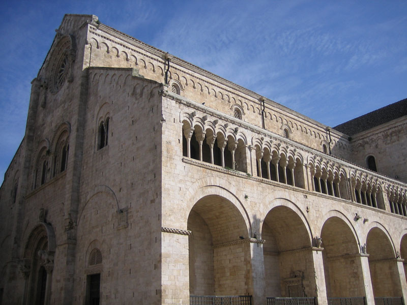 Romanesque church of Bitonto (Puglia, Italy)