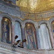 Mosaics in the Narthex Entrance of St Mark's Basilica