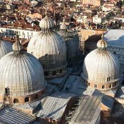 View of St Mark's from the Campanile - Venice, Italy