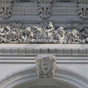 Cast Iron Architecture - Pediment - NYC