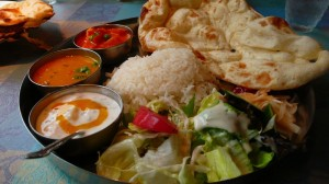 Indian Thali (Vegetarian)