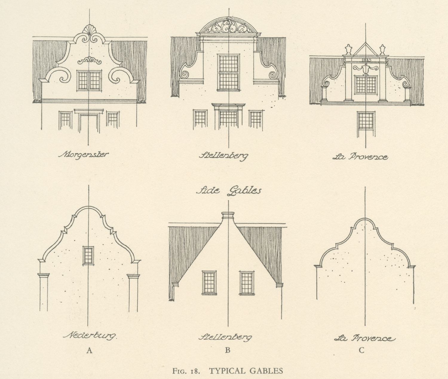 Cape Dutch Architecture In South Africa Approach Guides