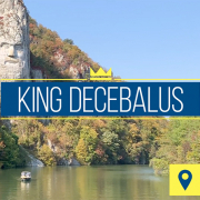 King Decebalus | Iron Gates, Danube River